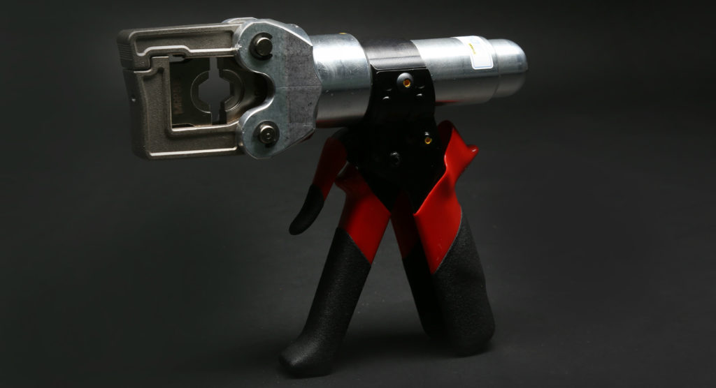 pistol grip crimp tool